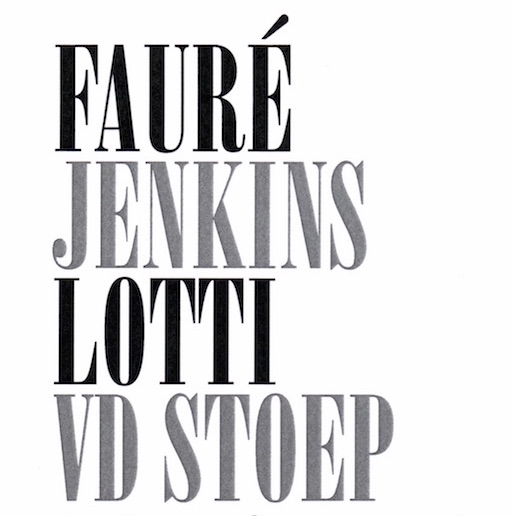 Fauré | Jenkins | Vd Stoep